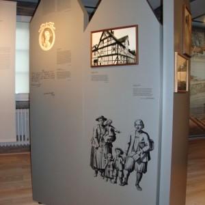 Ausstellungsbeschriftung Museum Hameln