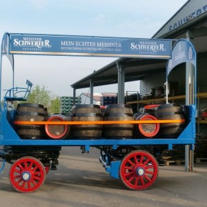 Fahrzeugbeschriftung – Pferdefuhrwerk